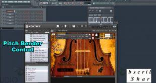 كيف يمكن التحكم في البيتش FL Studio