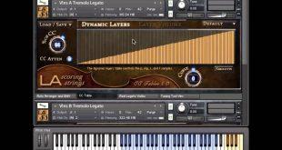 طريقة تشريق مكتية الكونتاكت La Scoring Strings للعزف الشرقي سيكا
